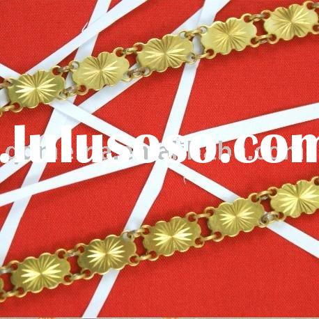 Fashion jewelry accessories brass chain
