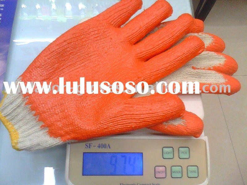 Fashionable 10 Gauge Latex Working Gloves,smooth finish,gloves in latex industry cut resistant