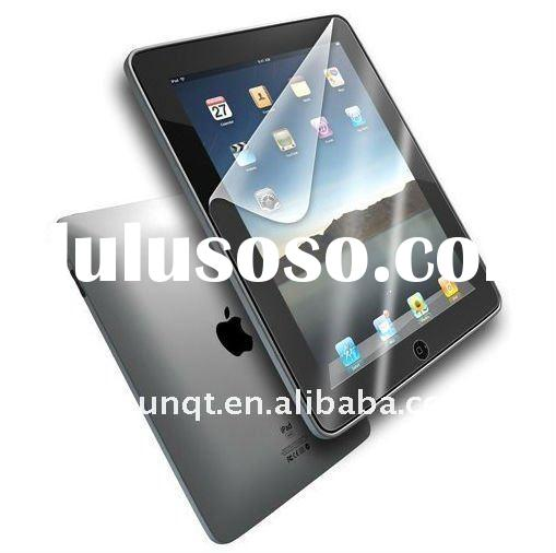 For Apple Ipad 2 Anti Glare Screen Protectors Can Be Washable & Reusable High Quality PET Materi