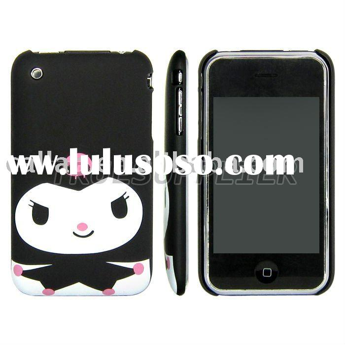 For Apple iPhone 3G 3Gs Hard Cases Cover /Kuromi Cartoon Design/Black
