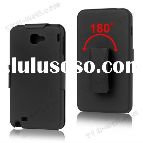 For Samsung Galaxy Note I9220 Slide Case with Swivel Belt Clip Holster Stand