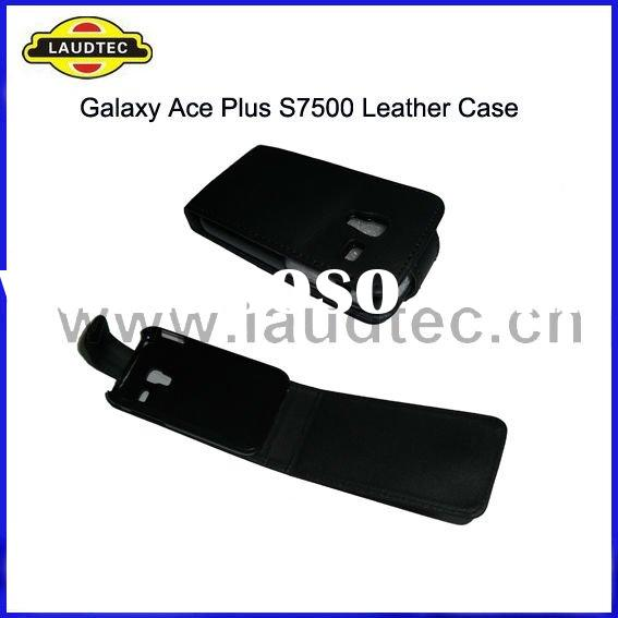 For Samsung S7500 Galaxy Ace Plus, Flip Leather Case Cover, Flip Case, New Arrival, Laudtec
