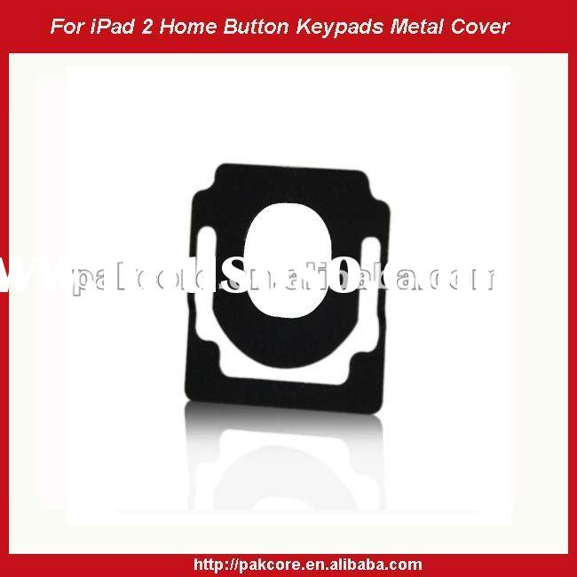 For iPad 2 Home Button Key Pad Metal Cover