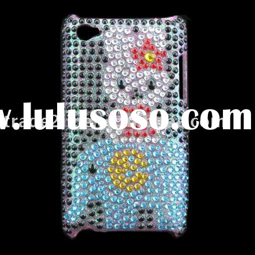 For iPod touch 4 rhinestone case