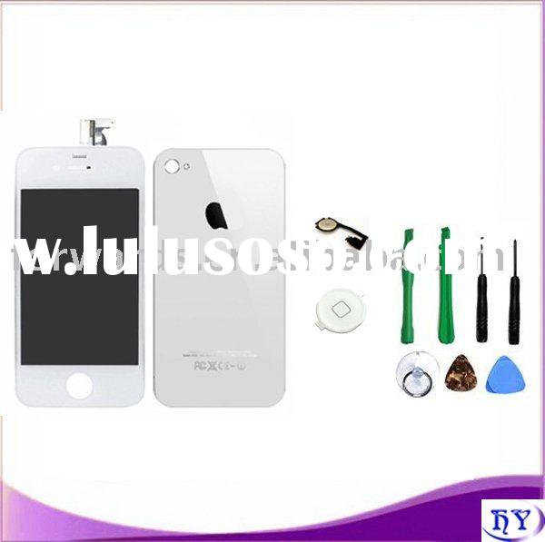 For iphone 4g replacement kit white color