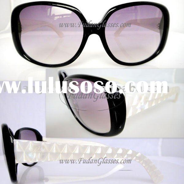Free shipping ladies spectacles frame new spectacles name brand goggles CH5189 black mix white