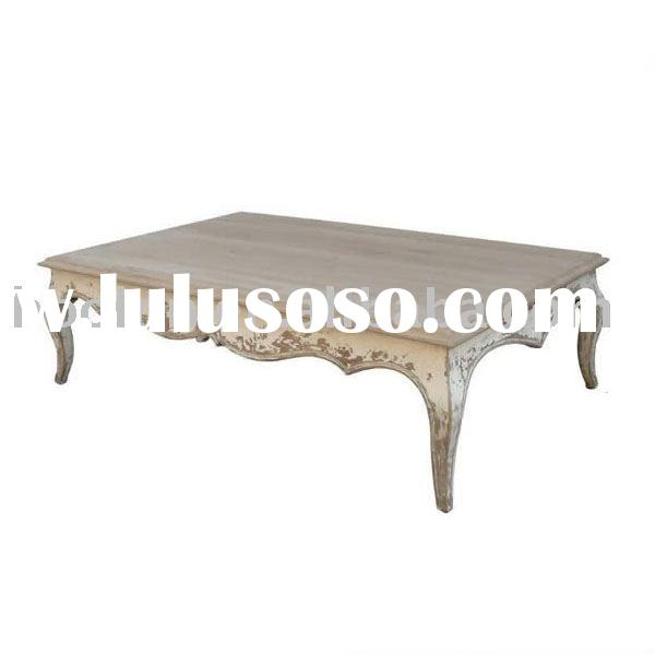 French Provincial Coffee Table For Sale: French Country Dining Table D1605 For Sale