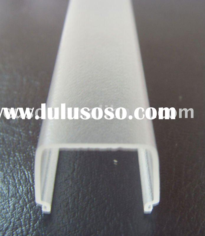Frosted Acrylic Extrusion for LED Light Diffuser