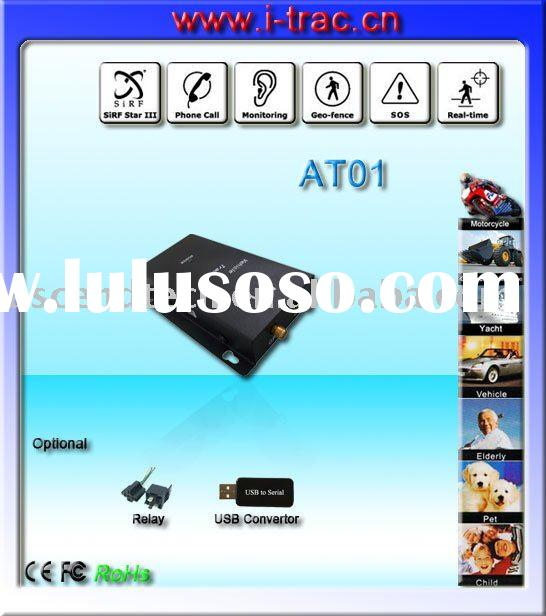 GSM GPRS SMS gps tracking system support online web based monitoring software