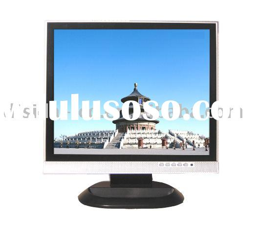"""G.. 17"""" CCTV LCD monitor with tempered glass"""