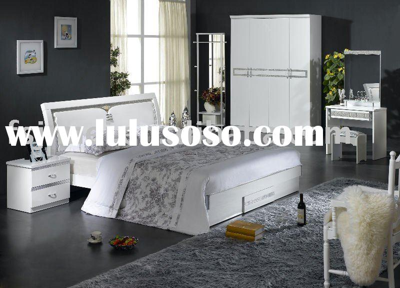 gloss white lacquer mdf bedroom furniture for sale price