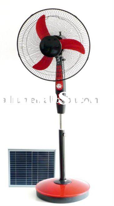 HIGH EFFICENCY RECHARGEABLE STAND SOLAR FAN ARDSSF12V16C