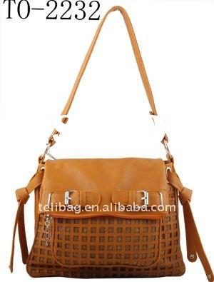 Hot! 2012 Summer Newest Fashion Ladies Tote Bag With Weave Wholesale