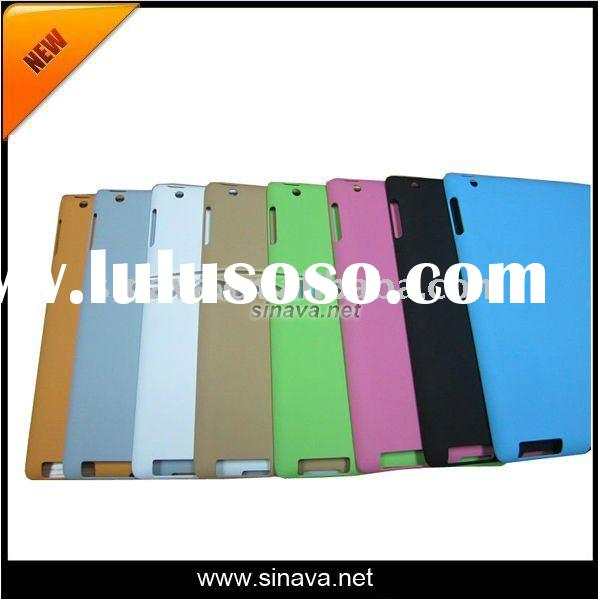 Hot!!! Wholesale factory price laptop computer cover protective pc plastic cover back cover for ipad