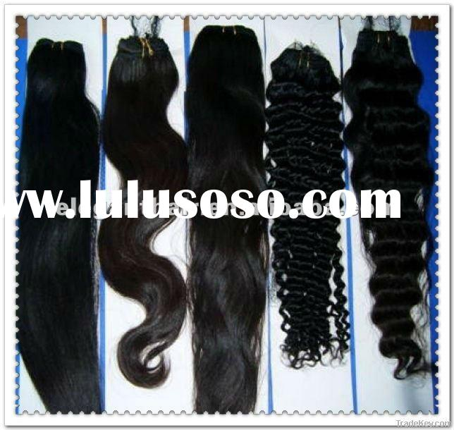 Hot sale 20 inch indian remy hair weft with factory price
