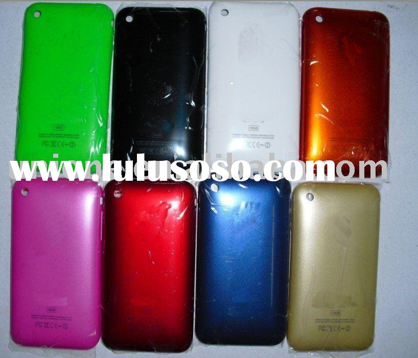 Hot selling colorful Back cover housing for Iphone 3G