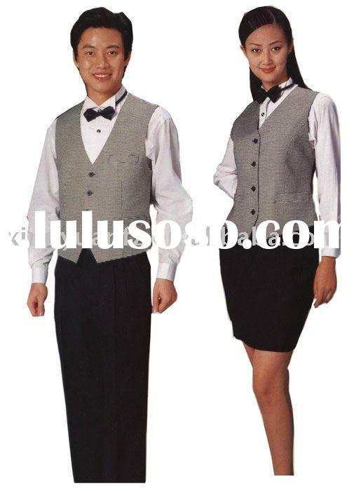 Hotel Restaurant Waiter Uniform Set