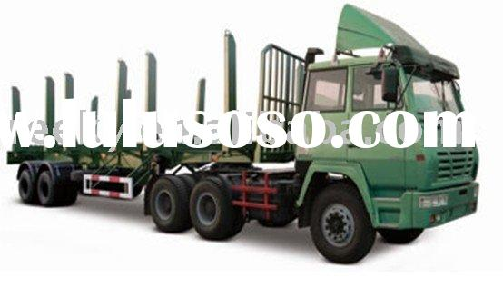 ISO Certificated and High-quality Wood Transporting Semi-trailer with ABS Braking System and Steady
