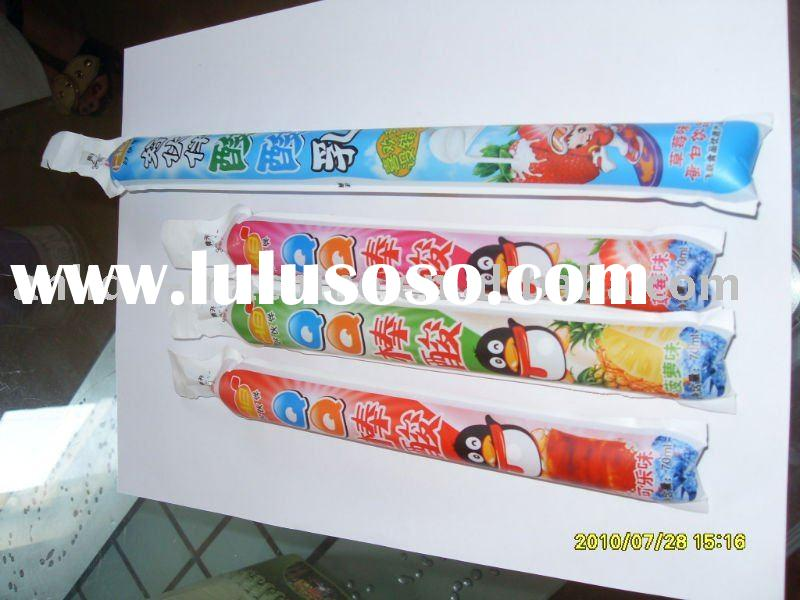 Ice lolly bag filling and sealing machine