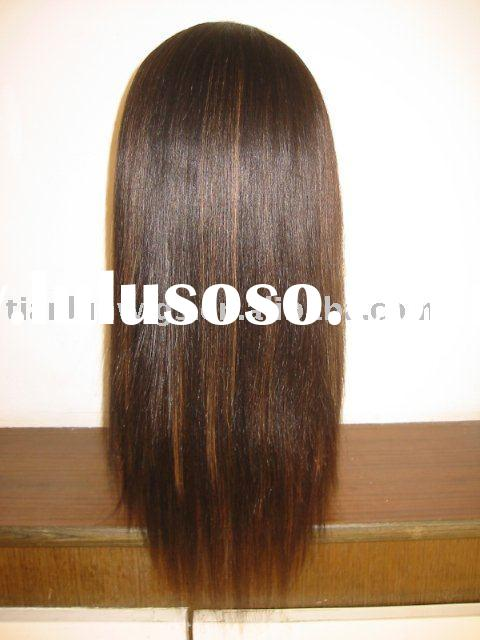 Indian remy hair Thin skin full lace wigs for white women in stock