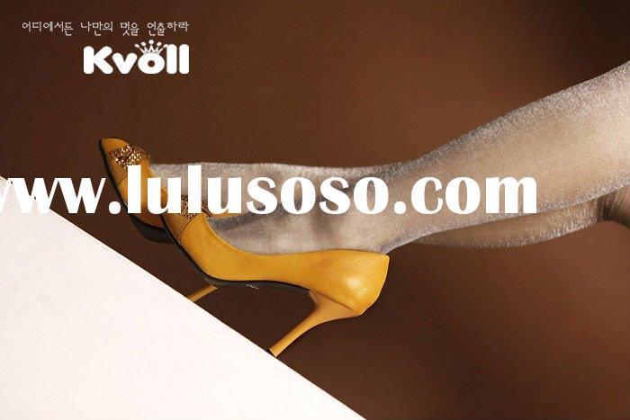 Korea kvoll newest hot sell new design ladies shoes