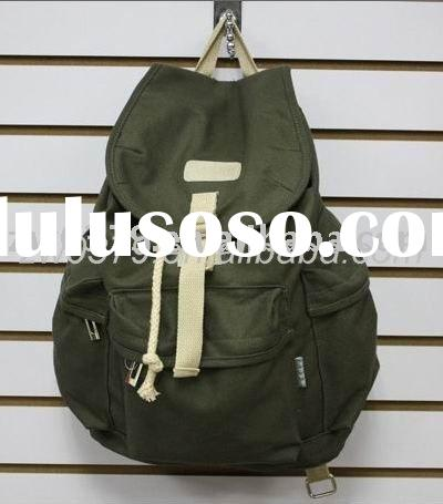 Korean Canvas School Bags and Backpacks for Girl-CRB 01