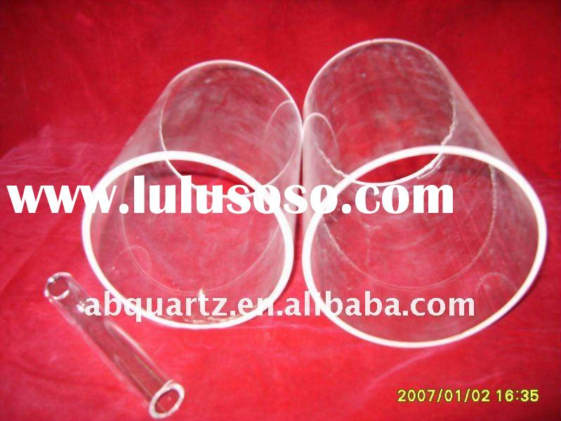 Large diameter clear quartz tube(OD4mm to 420mm)