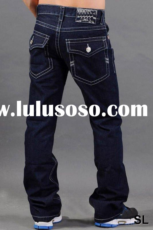 Latest design jeans pants for men, Paypal+Free shipping