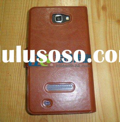 Leather Sleeve Case With Belt Clip for Samsung Galaxy Note GT-N7000 i9220