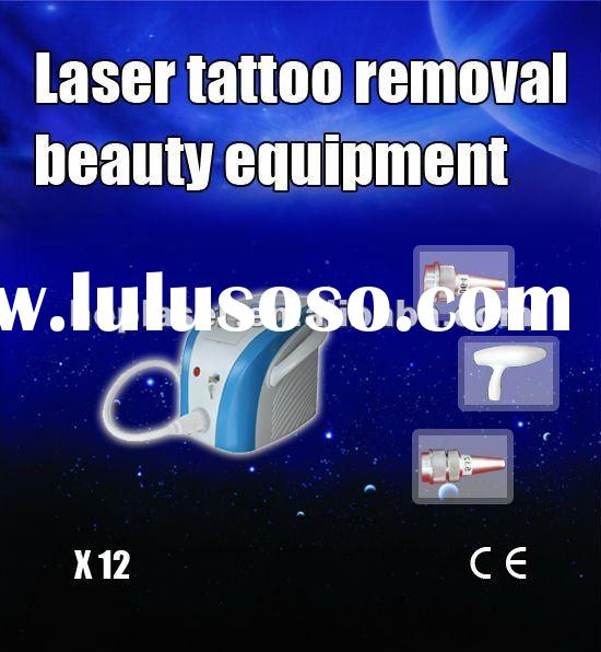 Low Price with CE certificate Q-Switch Ndyag laser tattoo removal device