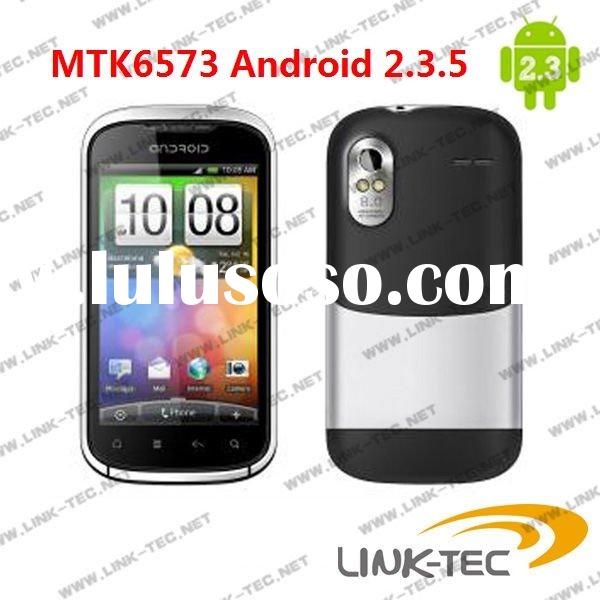 MTK6573 4.0 Capacitive touch screen GPS WIFI 3G android 2.3 mobile phone