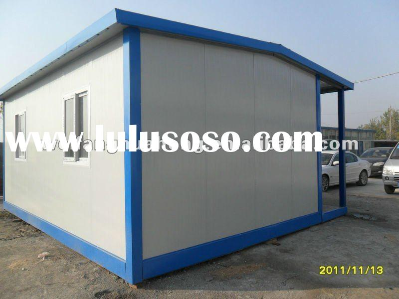 Manufacturing technology Portable houses design with building