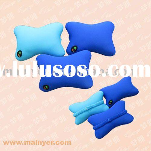Massage Bone Shape Neck Pillow; Dogbone Car Pillow