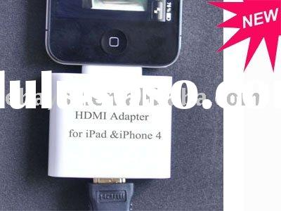 Mini HDMI Cable For iPad,iPhone 4,iPod Touch 4G