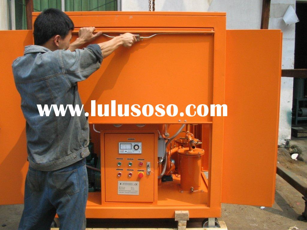Mobile Type Insualtion Oil Purification Machine,Easy to Move