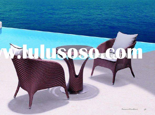 Modern Outdoor Rattan Coffee Table LG55-8506