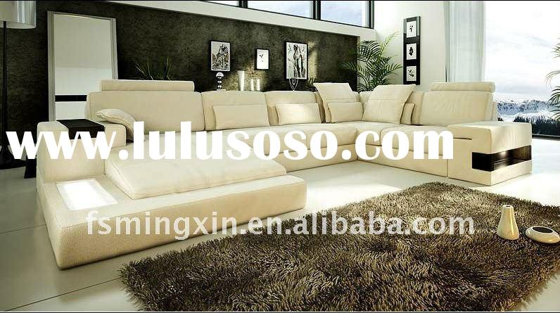 Modern Sectional Contemporary Furniture Leather Sofa set MX-9050