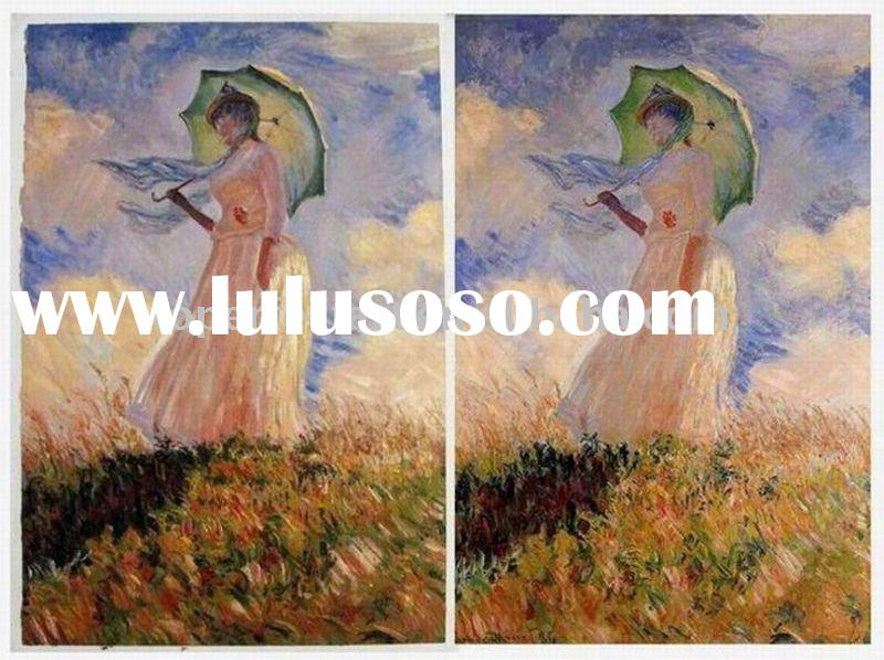 Monet oil painting,exact copy of the orginal,low wholesale price