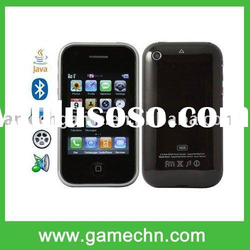 N7, Bluetooth FM touch Mobile Phone, Hand shaking can change the wallpaper, music, Quad band, Networ