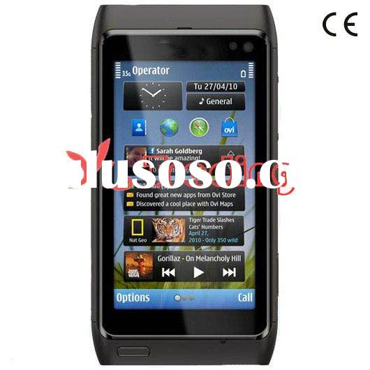 "N8 WIFI mobile phone 3.0"" touch screen Multi-language 3MP camera Bluetooth FM MP3 MP4 unlocked"