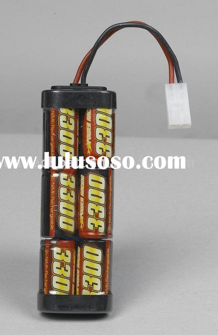 NIMH /NICD rechargeable battery for R/C model