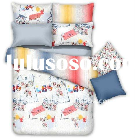 New Design 100% Cotton Reactive Printed Bedding Sets