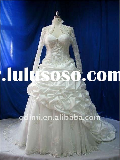 New arrival lace long sleeve wedding gown