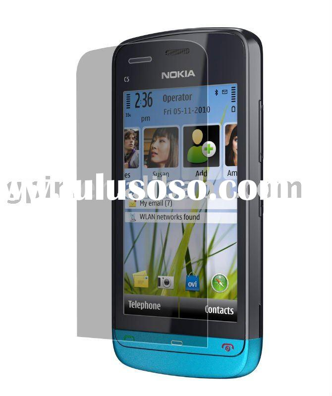 Newest model, cell phone screen protector for Nokia C5-03