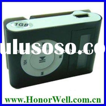 Oem Black Cheap Clip Mp3 Player With FM