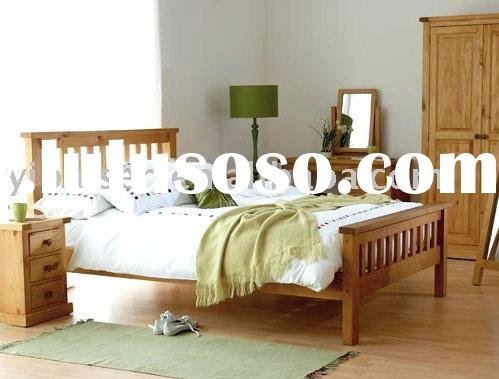 PINE BED WARDROBE BEDSIDE TABLE wooden furniture home solid wood furniture bedroom furniture pine be