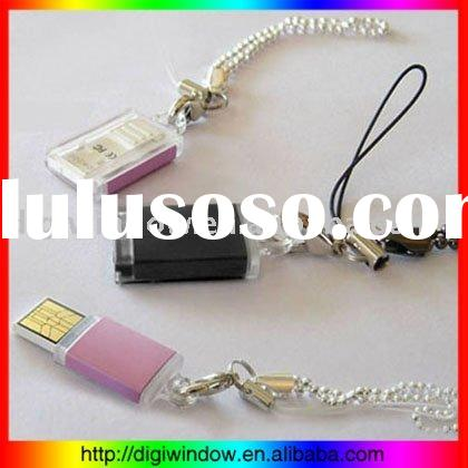 PQI Mini USB 2.0 Memory, Key chain USB Drive (DW-U-069)