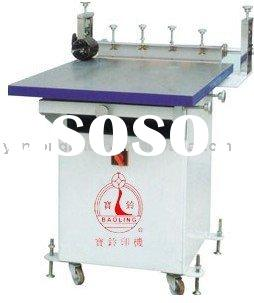 PVC plastic Manual Silk Screen printing machine