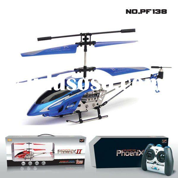 Pengfei~PF138,3CH Metal RC Helicopter with gyro,Automatic demonstration flight