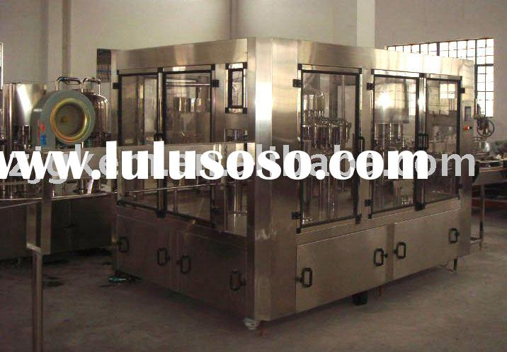 Plastic bottle automatic water filling machine/filling equipment (3-in-1)